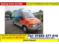 2002 - 51 - IVECO DAILY 35S11 3300WB 2.8TD VAN (GUIDE PRICE)