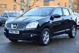 NISSAN QASHQAI 1.5 DCi ACENTA, AIR CON, 85,000 MILES ONLY
