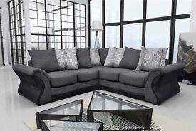 Corner sofa grey NEW