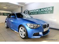 BMW 1 SERIES 2.0 118d M SPORT [2X SERVICES, ?30 TAX, LOW MILES and STUNNING COLO