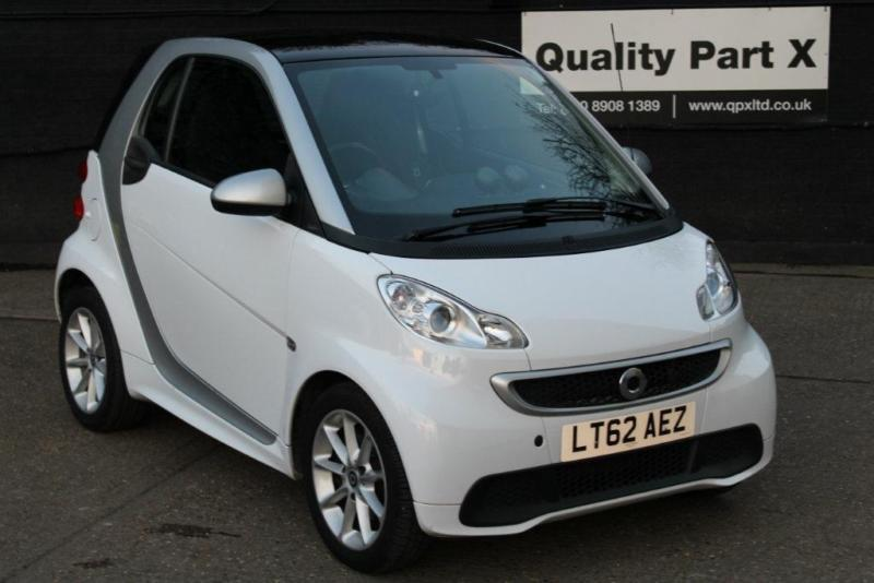2012 Smart Fortwo 1.0 MHD Passion Softouch 2dr