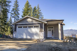 Salmon Arm - Under Construction Rancher in Maplewood Estates.