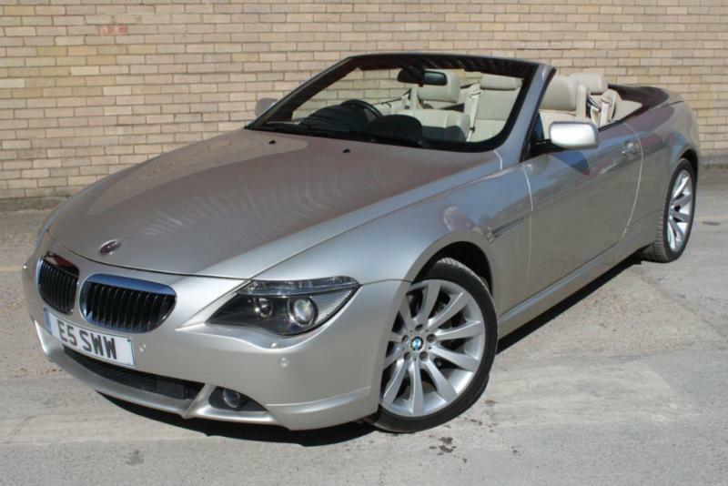 Bmw 650i Convertible Cabriolet Automatic