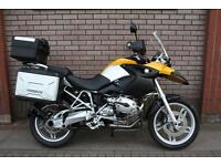 BMW R1200GS R 1200 GS FULL LUGGAGE SET SUPERB EXAMPLE