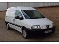 2005 Peugeot Expert 1.9D white twin side doors clean £1695
