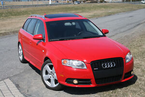 """Audi A4 Avant 3,2 L S-Line 2007-Manuelle """"Extrêmement rare"""""""