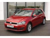 2014 Volkswagen Golf 1.6 TDI SE Hatchback 5dr (start/stop)