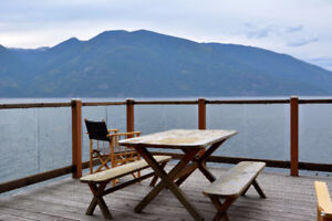 Dramatic Waterfront Property on the East Shore of Kootenay Lake