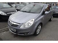 2010/59 Vauxhall Corsa 1.2i Energy 1 YEARS MOT SERVICED SPARE KEY GOOD MILES