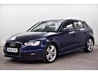 2016 Audi A3 TDI S LINE NAV Diesel blue Semi Auto