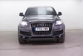 2012 Audi Q7 TDI QUATTRO S LINE PLUS Diesel grey Automatic
