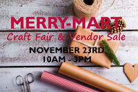 Merry Mart Craft Fair & Vendor Sale