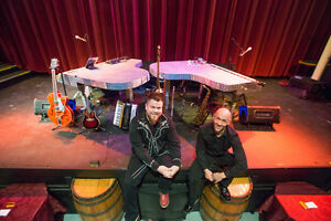 Egans presents Burn N Mahn Dueling Pianos