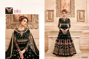 Latest #Anarkali #Shalwar #Salwar Kameez Semi-Stitched