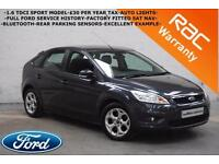 2011 Ford Focus 1.6TDCi Sport-FULL FORD SERVICE HISTORY-SAT NAV-PARKING SENSORS-