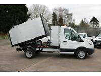 16 Ford Transit New Arb Tipper Tree Surgeon Arborist Waste Clearance low Mileage