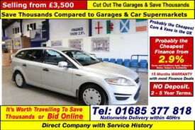 2012 - 62 - FORD MONDEO EDGE 1.6TDCI ECO-NETIC 5 DOOR ESTATE (GUIDE PRICE)