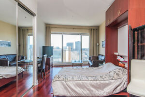 Luxury furnished studio - Downtown Montreal