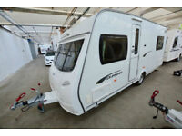 2011 Lunar Quasar 534 4 Berth Touring Caravan with Fixed Bed