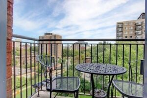 Furnished condo with parking downtown