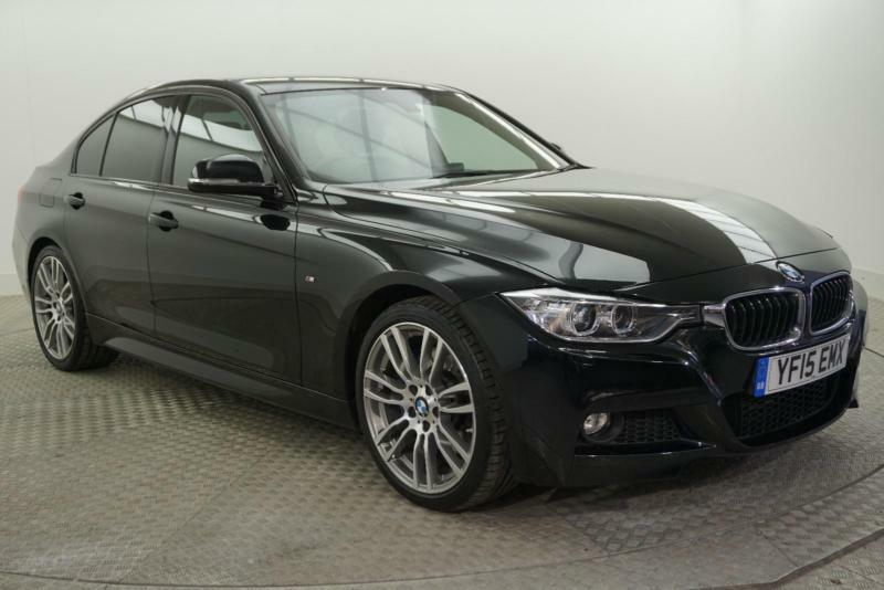2015 bmw 3 series 320d m sport diesel black automatic in bury manchester gumtree. Black Bedroom Furniture Sets. Home Design Ideas