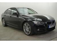 2015 BMW 3 Series 320D M SPORT Diesel black Automatic