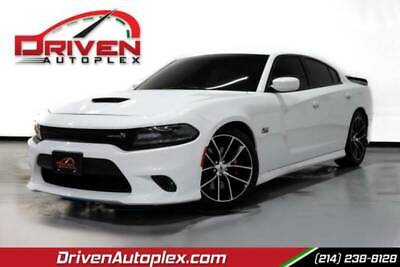 2017 Dodge Charger R/T Scat Pack Sedan 4D White Dodge Charger with 55416 Miles available now!