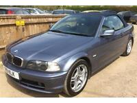 2001 (Private Plate ) BMW 320 2.2i Cabriolet Convertible 76k FSH