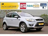 2009 Ford Kuga 2.0 TDCi Titanium 4x4 5dr Diesel white Manual