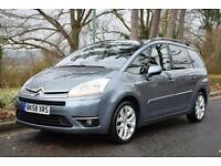 "CITROEN GRAND C4 PICASSO 2.0i 16v AUTO EXCLUSIVE, 18"" ALLOYS, 65000 MILES ONLY"