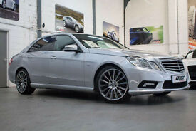 Mercedes Benz E350 3.0CDI Sport, 59 Reg, 88k, Silver, Pan Roof, Command Etc..
