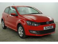2014 Volkswagen Polo MATCH EDITION Petrol red Manual
