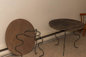 Coffee / patio Tables - set of 2
