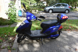 E-Bike (Scooter style) - New batteries, gently used.