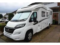 Hymer TCL698 Low Profile Motorhome for Sale Island Bed Bike Rack Awning TV DVD