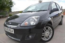 FORD FIESTA GHIA 1.4 5 DOOR*LOW MILEAGE*ONE LADY OWNER*FULL SERVICE HISTORY*