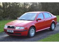 Skoda Octavia cheap diesel car red bargain LOW cost