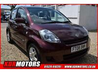 2008 Daihatsu Sirion 1.0 SE 57K F/S/H 5 SPEED MANUAL £30 ROAD TAX