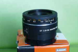 Sony SAL30M28 DT 30mm F2.8 SAM Macro for Alpha A-mount (NEW)