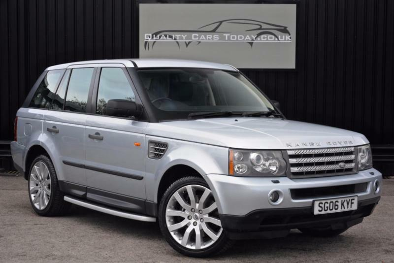 Range Rover Sport 4.2 V8 Supercharged *High Spec + Just £305 per year tax*