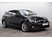 2013 Lexus CT 200H ADVANCE PETROL/ELECTRIC black CVT