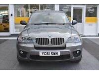 BAD CREDIT CAR FINANCE AVAILABLE 2011 61 BMW X5 4.0d M SPORT 7 SEATER