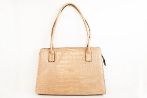 TOMMY HILFIGER Tan Embossed Women's Purse / Tote