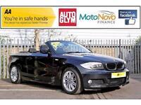 2011 BMW 1 Series 2.0 118d M Sport 2dr Diesel black Manual