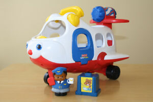 Avion Fisher Price Little People