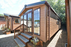 NEW Sunrise Lodge Deluxe 40x13 | Winterised Mobile Home | CanExel or Wood Clad