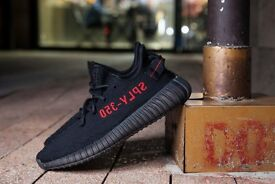 Best Adidas Yeezy 350 V2 Boost SPLY Core Black Red