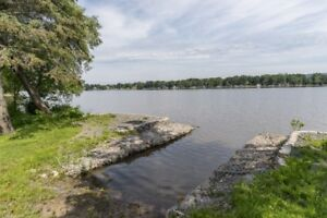 Water front property in L'Orignal Ontario 60 min of Montreal