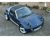 2004 Smart Roadster Convertible only 54k Superb Condition - History / New Tyres