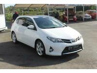 2013 Toyota Auris 1.6 V-Matic Excel 5dr HATCHBACK Petrol Manual